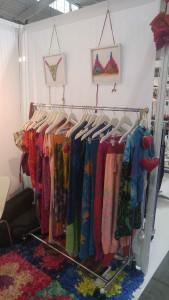Juana de Arco's pretty fabrics at CurvExpo