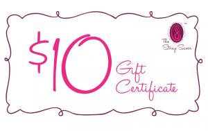 $10 Strap Saver gift card