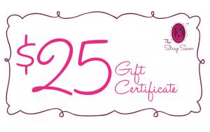 $25 Strap Saver gift card