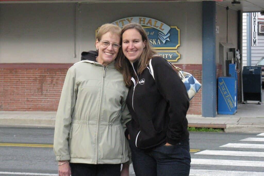 Shari and Her Mom in Juneau, AK