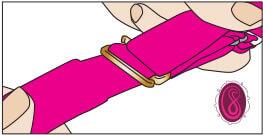 step 4 illustration for single strap